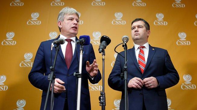 Roman Onderka a Jan Hamáček