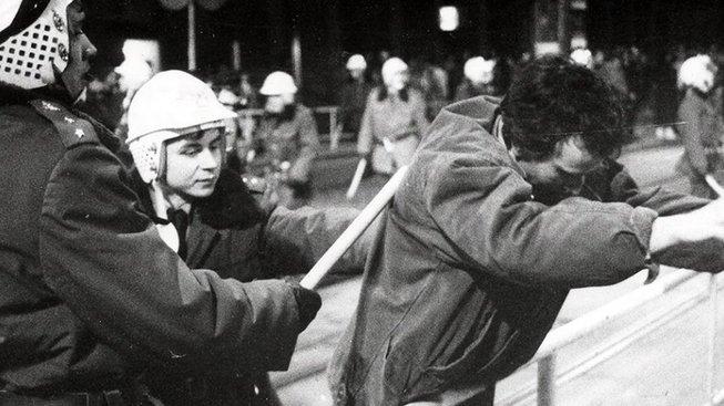 Zásah proti demonstrantům, Praha, leden 1989