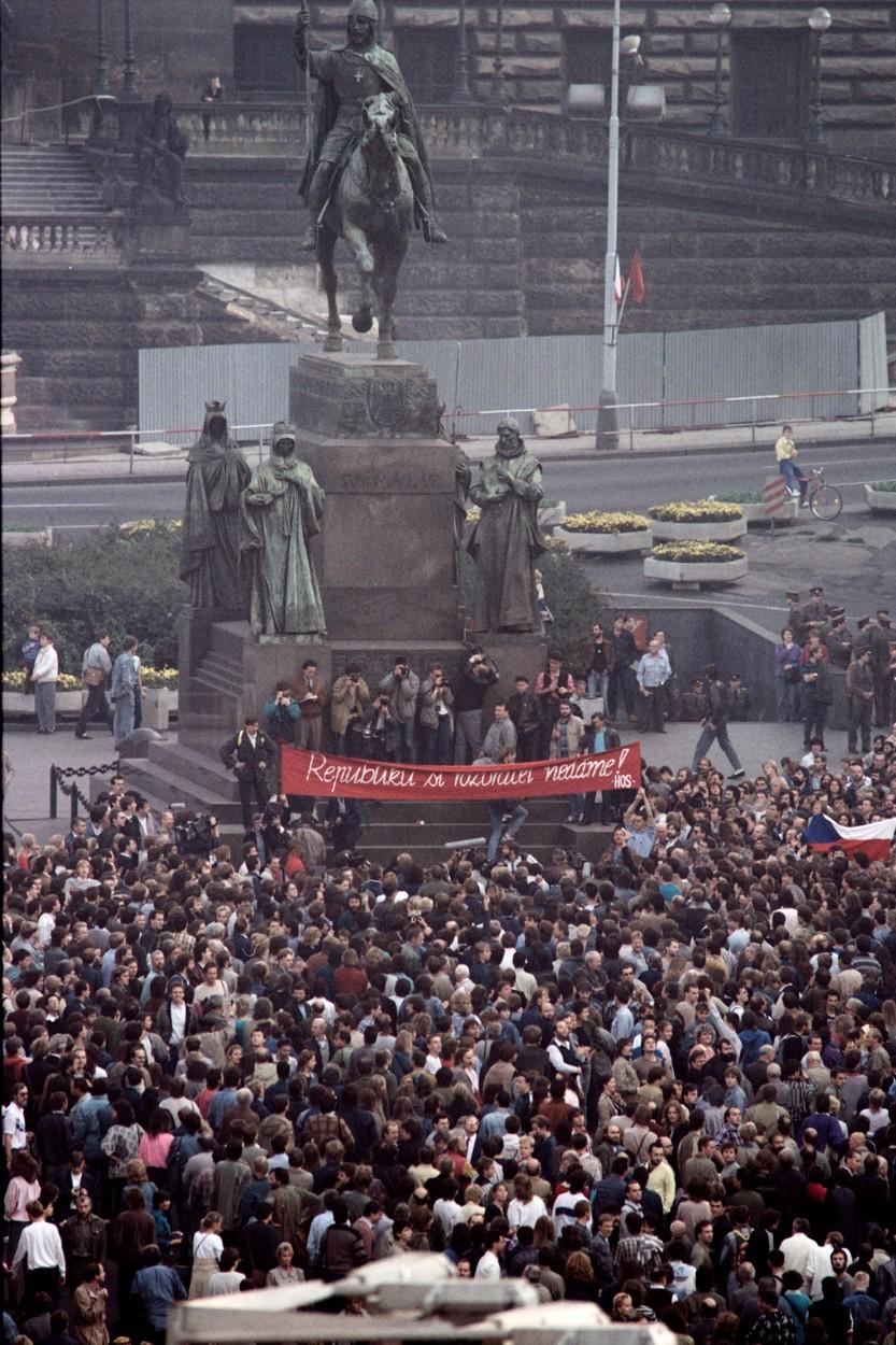 Demonstrace 28. října 1989