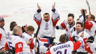 Čeští parahokejisté na šampionátu v Ostravě