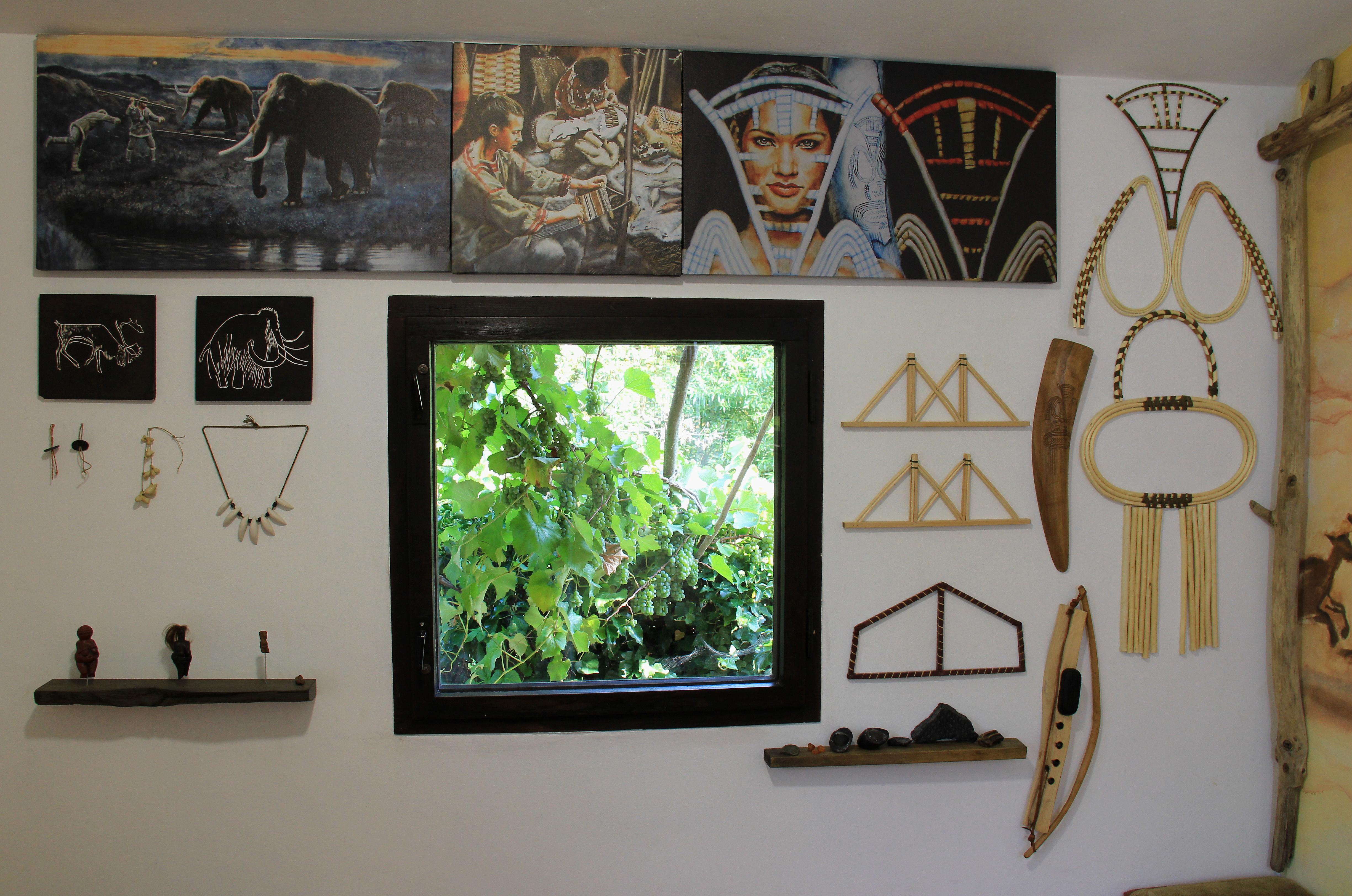 Pravěké muzeum v zahradním domku pana Sonnka
