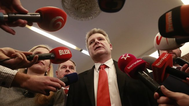 Stanislav Grospič, předseda imunitního a mandátového výboru, důležitá figura sněmovny