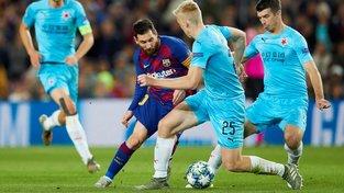 Slavia uhrála 5. listopadu v Barceloně bezbrankovou remízu
