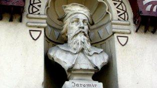 Busta knížete Jaromíra v Jaroměři,
