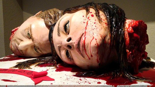 Dokud nás smrt nerozdělí. Svatební dort majitelů cukrářského studio Sideserf Cakes