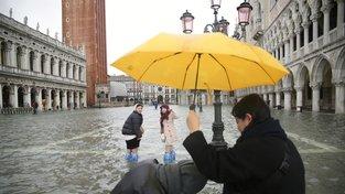 OBRAZEM: Benátky postihly největší záplavy za více než půl století
