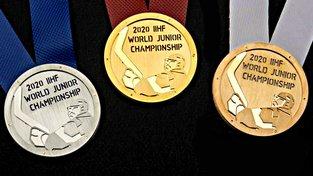 Oficiální medaile juniorského MS v hokeji