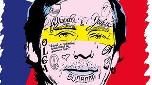 Z Onerovy dílny vyšla obálka zobrazují portrét Václava Havla potetovaného ve stylu moderních rapperů