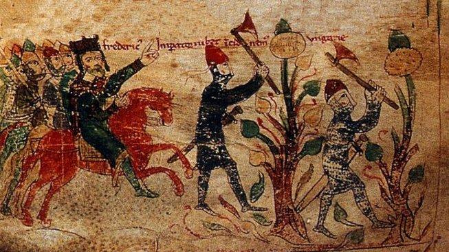 Fridrich Barbarossa na třetí křížové výpravě
