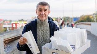 Andrej Babiš, prodavač koblih a státních rezerv