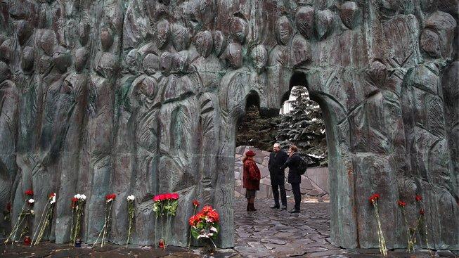 Moskevský pomník obětem politických represí