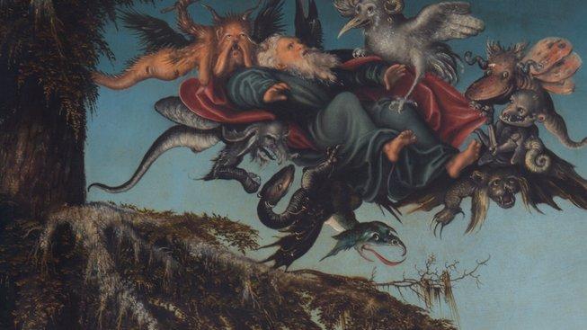 Lucas Cranach st. - Sv. Antonín Poustevník
