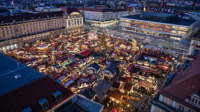 Vánoční trh v Drážďanech