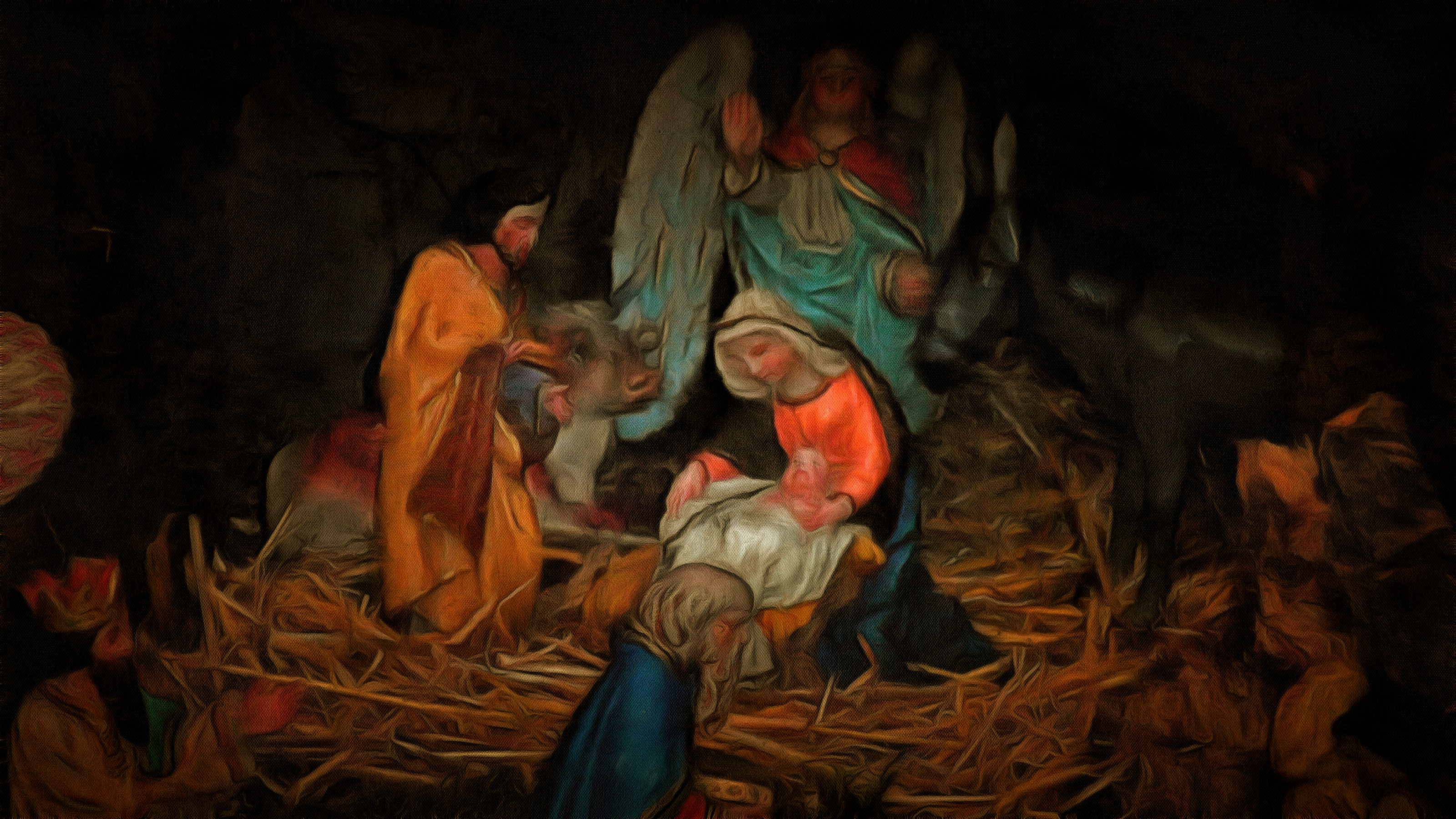 Vánoce za starých časů