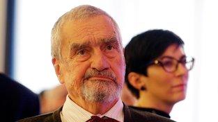Karel Schwarzenberg na volebním sněmu TOP 09 v listopadu 2019