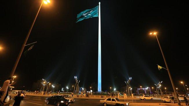 Nejvyšší vlajkový stožár v saúdskoarabské Džiddě