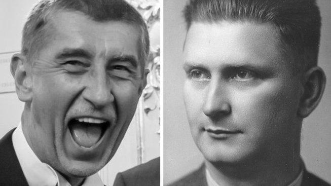 Andrej Babiš a Jan Antonín Baťa. Najdi rozdíly!