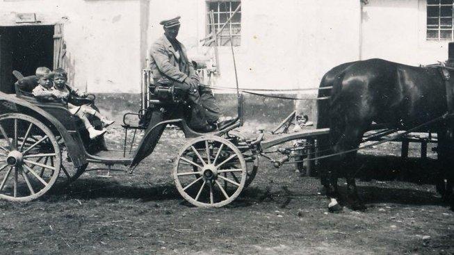 Statek rodičů Pavla Dobrovolného, 1940