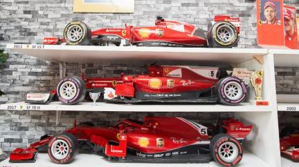 Modelář z Karviné miluje Ferrari, rád by je vystavil v Maranellu