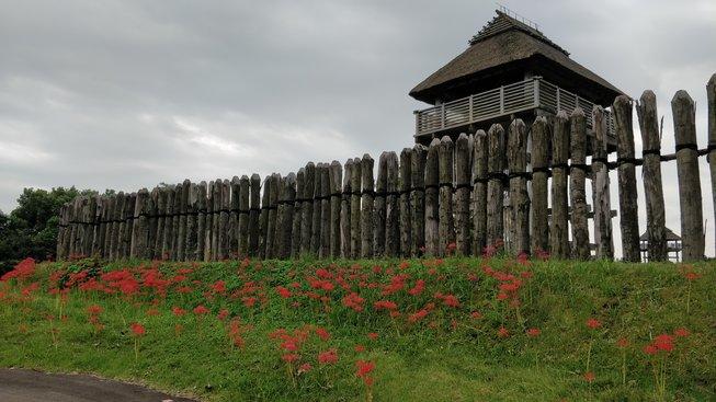 Palisáda s věží chránící vstup do centrální části hradiště