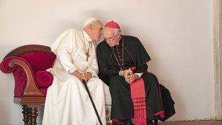 Anthony Hopkins a Jonathan Pryce v roli dvou papežů