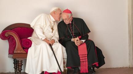 Dva papežové: Nepřijatelné rouhání, nebo milý snímek o přátelství dvou staříků?