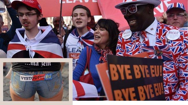 Brexit a czexit. Najdi rozdíly