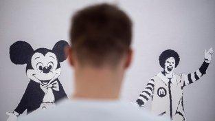 Banksyho výstava v Budapešti