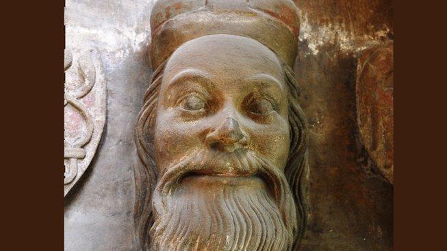 Jan Jindřich Lucemburský v katedrále sv. Víta
