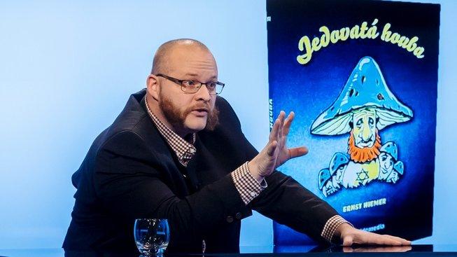 Pavel Kamas z nakladatelství Guidemedia v pořadu Rozstřel