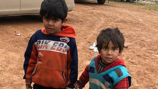 70% uprchlíků v Idlibu tvoří podle OSN ženy a děti