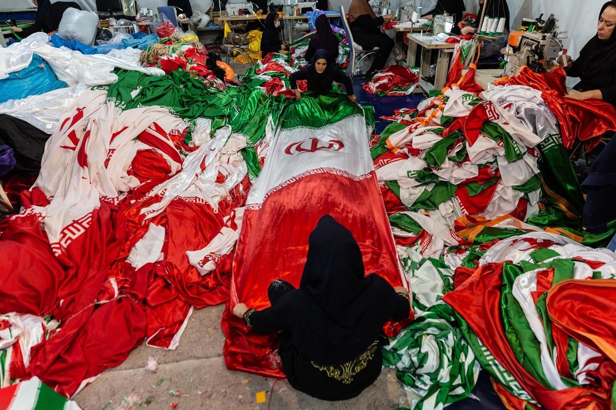 Vlajky určené ke spálení