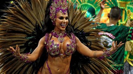 OBRAZEM: Roztančenému Riu kraluje samba
