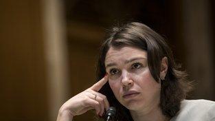 Žanna Němcovová - dcera zavražděného ruského politika Borise Němcova. Od 1. března bude druhou ředitelkou pražského Akademického centra Borise Němcova