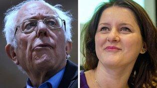 Jana a Bernie. Kupředu levá!
