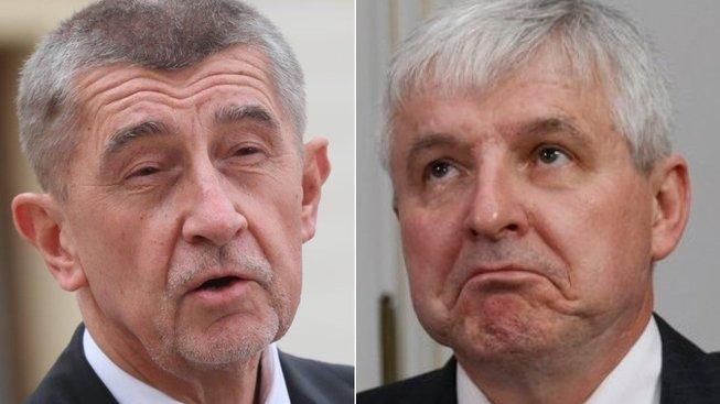 Andrej Babiš vs. Jiří Rusnok