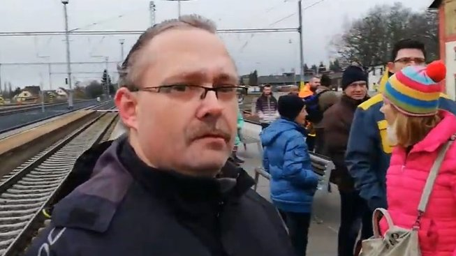 Protest proti premiéru Babišovi v Jaroměři 26.2.2020. VIDEO uvnitř článku