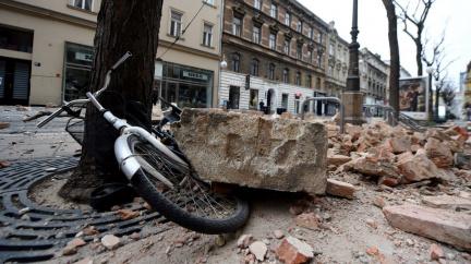 Jak to vypadá po nejsilnějším zemětřesení za 140 let