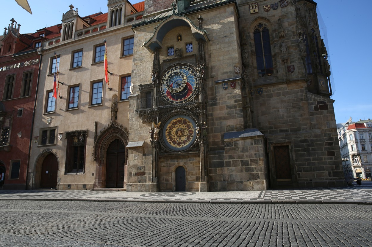 Vylidněná Praha