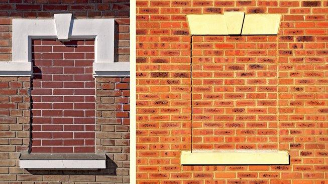 Zazděná okna leckde dodnes připomínají někdejší daň