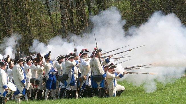 Sedláci neměli proti profesionální armádě šanci (ilustrační foto)