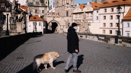 Osiřelá Praha: Podívejte se na známá místa bez davů lidí