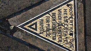 Hessův trojúhelník v New Yorku