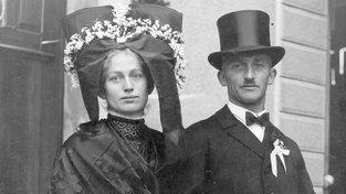 Nevěsta v černém - ještě před stovkou let nic neobvyklého