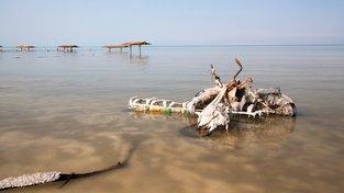 Jen málokteré jezero se může pochlubit slanější vodou