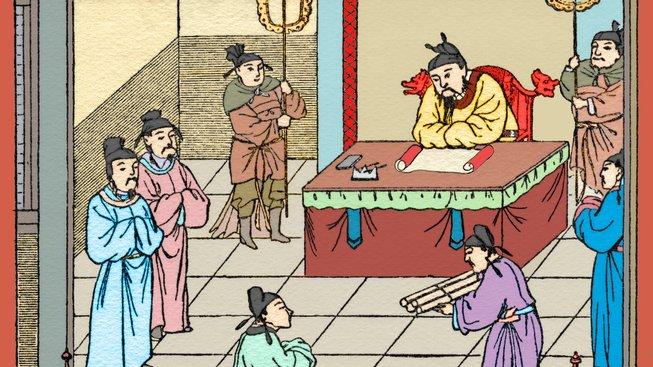 Císařský palác byl nebezpečným místem i pro ty, kteří v něm pracovali