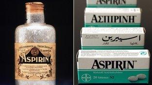 Aspirin je nejprodávanějším lékem všech dob