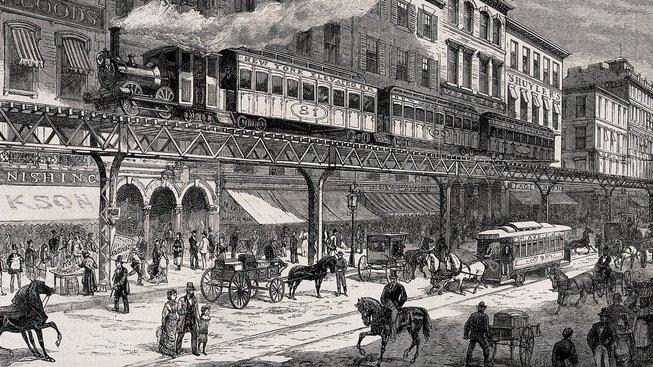 Tak vypadaly ulice New Yorku v 19. století