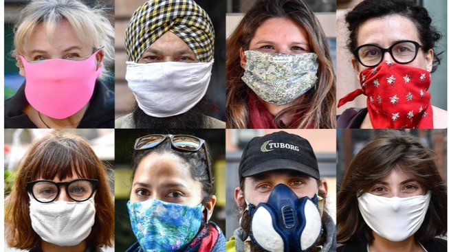 Tváře z koronavirové pandemie