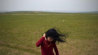Mongolská holčička